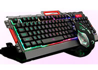 CE / ROHS Approved Illuminated Wireless Keyboard And Mouse Combo With USB Receiver