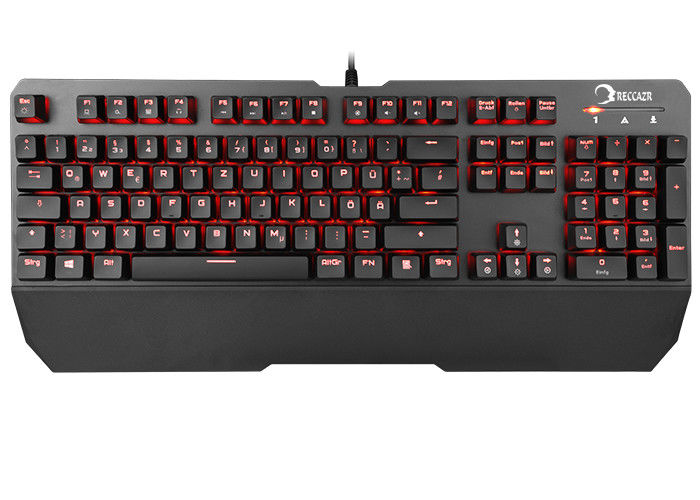 Multi Function Illuminated Gaming Keyboard With Programmable Keys KG901